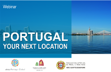 "Veja o webinar ""Invest in Portugal - Your Next Location"""