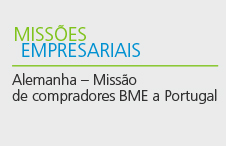 Alemanha - Missão de compradores BME a Portugal